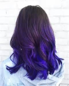 Purple Blue Ombre Hair