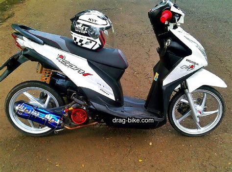 Modifikasi Motor Beat Fi Hitam by Modifikasi Honda Beat Fi Hitam Velg 14 Automotivegarage Org