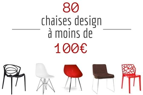 chaises design pas chere par quatre 233 quipement de maison