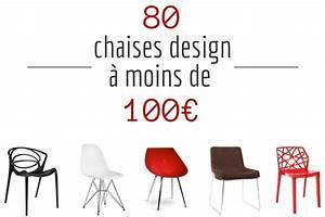 Chaise design pas cher 80 chaises design a moins de 100eur for Deco cuisine avec chaise de salon pas cher