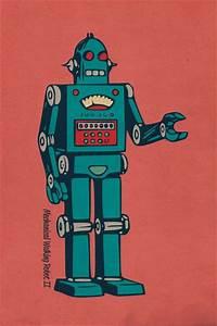 1000+ images about ☮ Art ~ Retro Robot on Pinterest