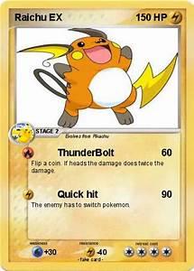 Pokémon Raichu EX 180 180 - ThunderBolt - My Pokemon Card