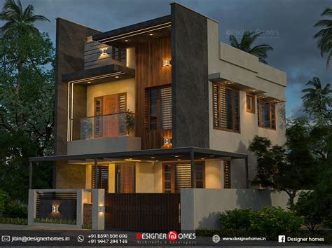 modern contemporary house plans kerala kerala model home