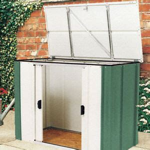 Metal Garden Storage Cabinet by Metal Bike Storage Shed Garden Outdoor Tools Box Yard