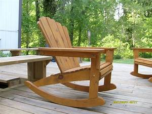 Plan fauteuil adirondack rocking chair youtube for Fauteuil rocking chair design