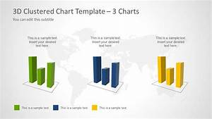 Grouped Column Chart 3d Clustered Chart Template For Powerpoint Slidemodel