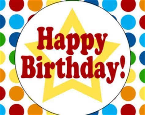 happy birthday sign   clip art
