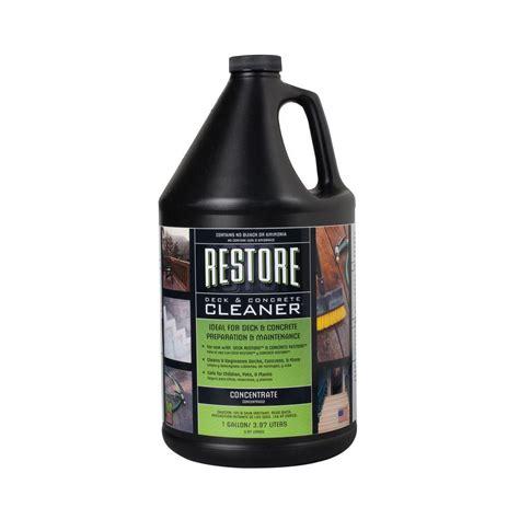 rust oleum restore deck  concrete cleaner