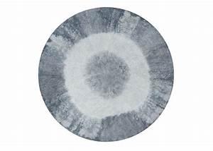 Tapis rond degrade de couleur rose jaune gris ou bleu ksl for Tapis rond de couleur