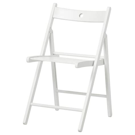 Terje Folding Chair White Ikea