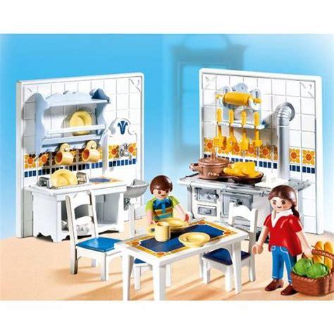 cuisine playmobile playmobil 5317 famille et cuisine traditionnelle achat