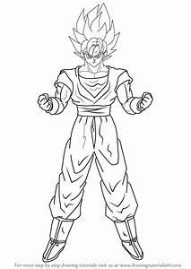 El Ssj2 En Dibujos Para Colorear De Dragon Ball Z De