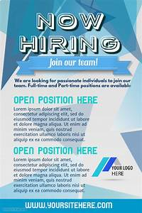 postermywall hiring poster template With hiring ad template