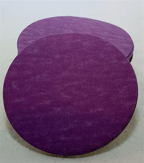 purple power sanding discs   package   wood