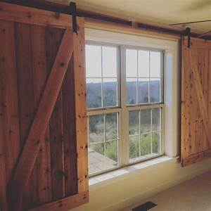 image result for barn door window covering new clinic With barn doors over windows