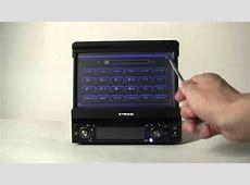 Xtrons D709G 1 din car dvd player GPS Bluetooth