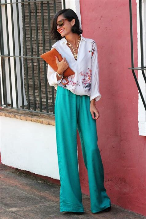 casual palazzo fashion styling for trendy