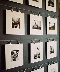 Fotos Aufhängen Schnur : 25 besten fotos aufh ngen bilder auf pinterest fotos aufh ngen w nde schm cken und bilderrahmen ~ Watch28wear.com Haus und Dekorationen