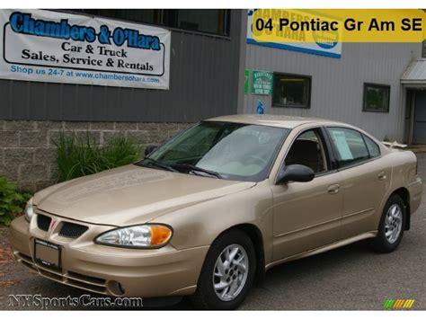 2004 Pontiac Grand Am Se Sedan In Champagne Beige Metallic