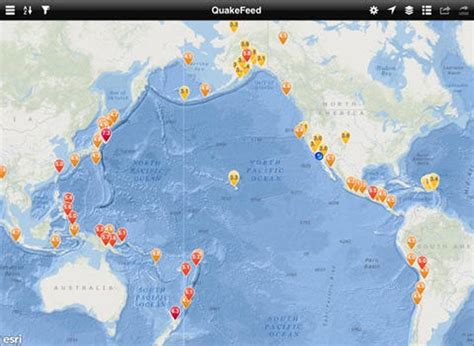 earthquake news today  ipad map product reviews net