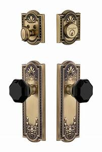 Parthenon Plate With Lyon Knob And Deadbolt Combo Pack