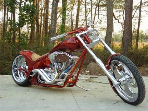 2001 Carolina Custom Cycles Exodus Chopper 4000 Miles Pro