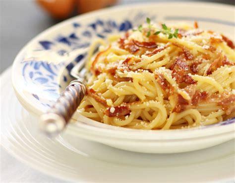 easy cuisine authentic spaghetti carbonara recipe easy pasta