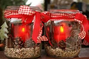 Windlichter Basteln Weihnachten : windlichter leuchtend rot zur weihnachtszeit einfach selbermachen ~ Yasmunasinghe.com Haus und Dekorationen