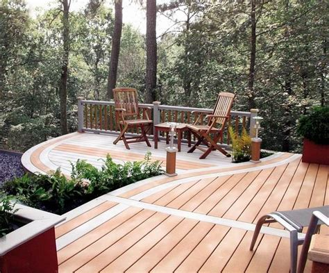 17 Best Images About Wood Deck On Pinterest