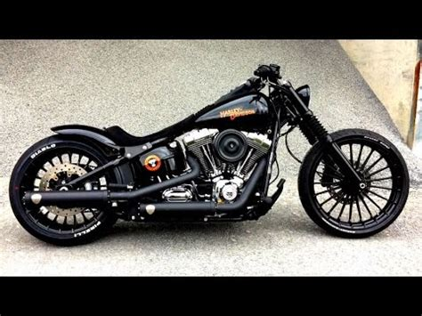 Harley Davidson Customs by Harley Davidson Fxsb Black Custom