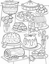 Coloring Pages Christmas Adult Adults Colouring Books Printable Sheets sketch template