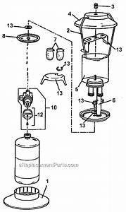 Coleman 5152d700t Parts List And Diagram