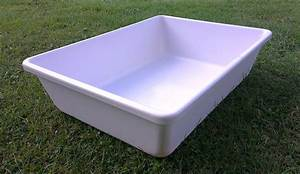 Real Men Use Large Plastic Tubs