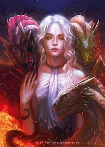 The Blood of the Dragon… Game of Thrones Fan Art | CVLT Nation