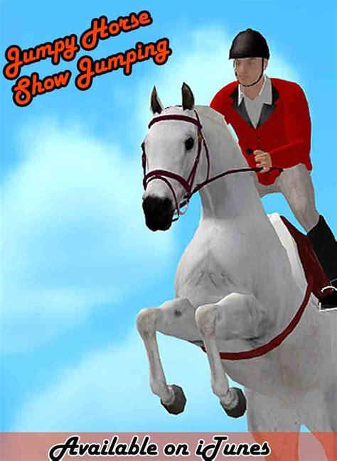 jumpy horse show jumping game  iphone ipadhorse games