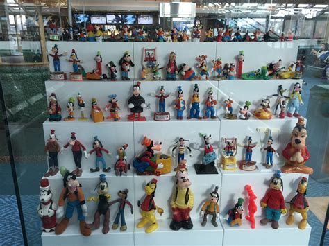 Very Cool Disney Toy Collection Display At Vancouver