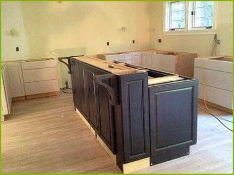 kitchen island base cabinet 18 best of using base cabinets build kitchen island 4988