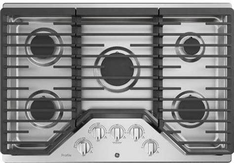 ge pgpslss   gas cooktop   sealed burners dishwasher safe continuous grates