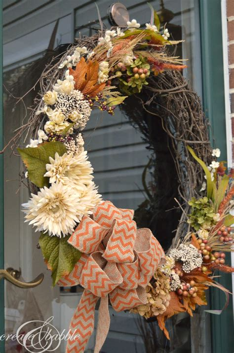 a fall wreath 31 diy fall wreath ideas make it and love it