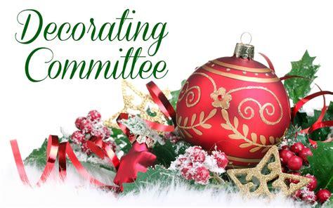 christmas decorating committee st joan  arc catholic