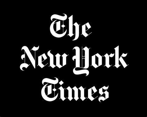 Resultado de imagen de logo de new york time