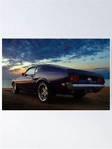 """""""69 Mustang Fastback"""" Poster by PilZ 