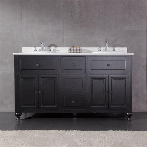60 Bathroom Vanities Sinks by Ove Decors Keith 60 Inch Sink Bathroom Vanity With