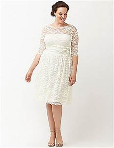aurora lace wedding dress by kiyonna lane bryant With lane bryant wedding dresses