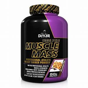 Cutler Nutrition Pure Muscle Mass Protein Powder  Chocolate  5 8 Pound