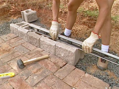 how to build a retaining wall how to build a block retaining wall how tos diy