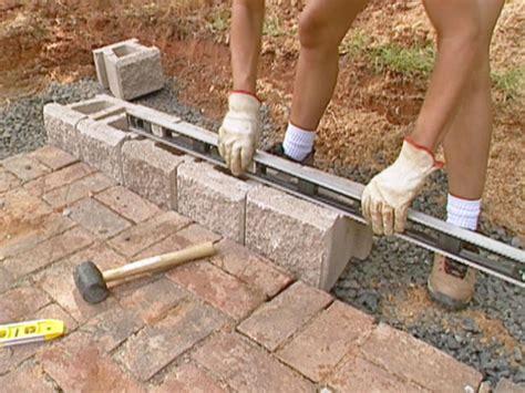 How To Build A Block Retaining Wall  Howtos Diy