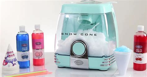 kohls nostalgia snow cone cotton candy ice cream