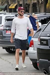 Miley Cyrus and Liam Hemsworth in Malibu 07/16/2017