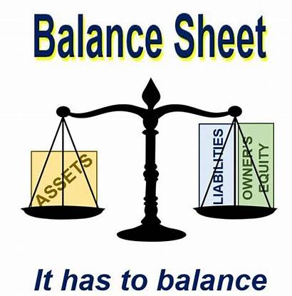 Balance Sheet Clipart Definition Meaning Financial Left